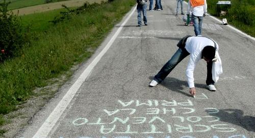 Parole di Mezzeria: la strada è una pagina bianca
